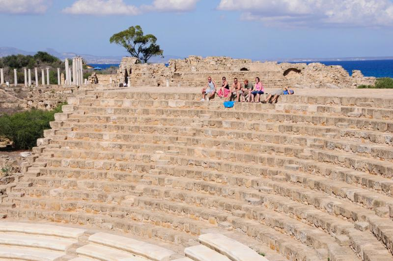Ancient Salamis. Fascinating ancient Cyprus is easy to explore by car or on an organised day trip