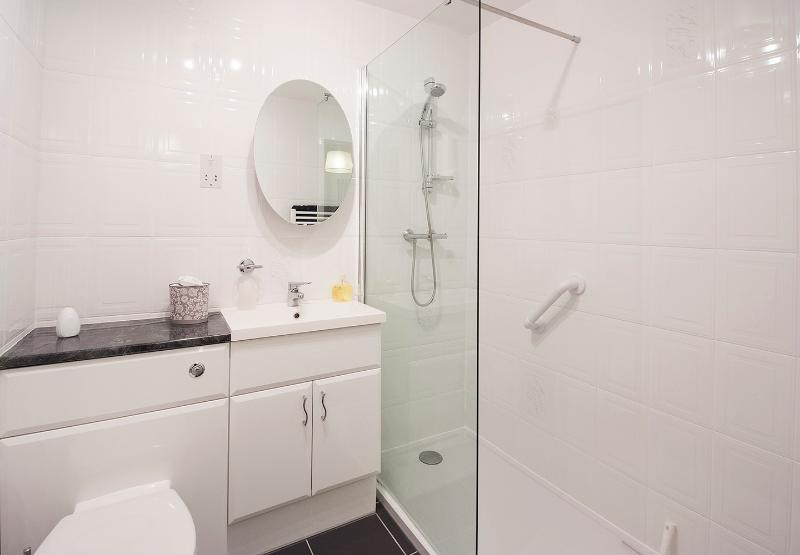 Recently re fitted shower room