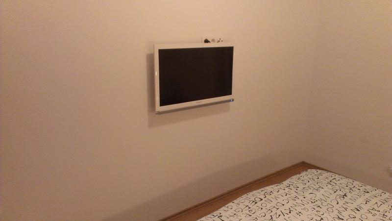 Smart TV in master bedroom