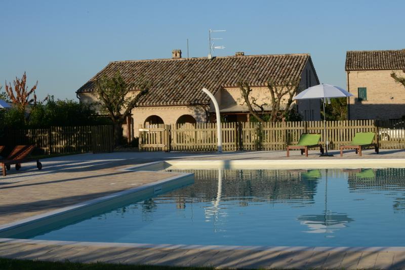 Apt.  ALBA in casale  Marche, vacation rental in Morrovalle