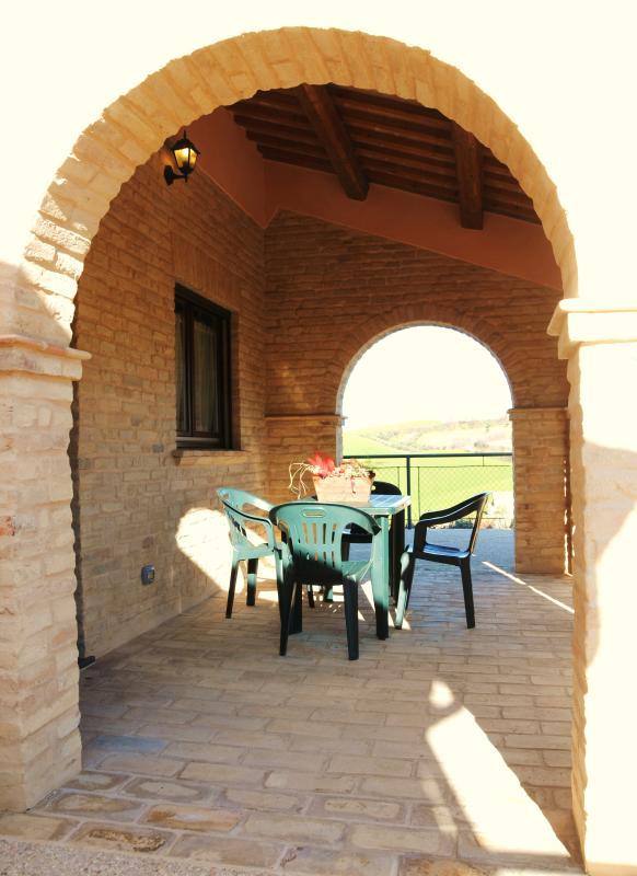 portico apartment ALBA