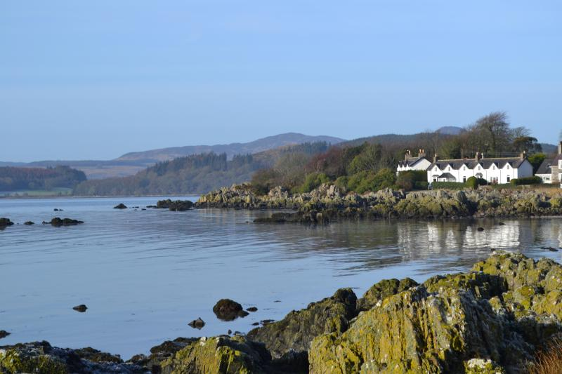 Rockcliffe Bay a four min walk from Drumburn