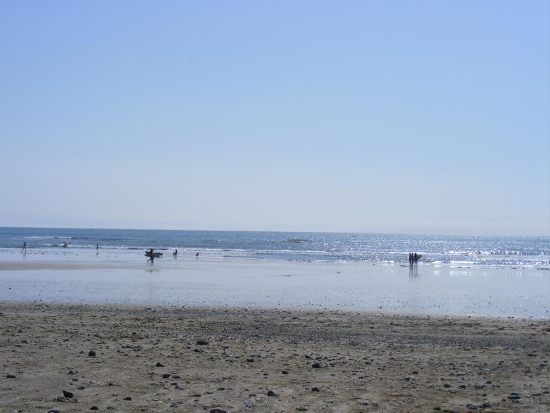 Local beach 5 minutes drive away