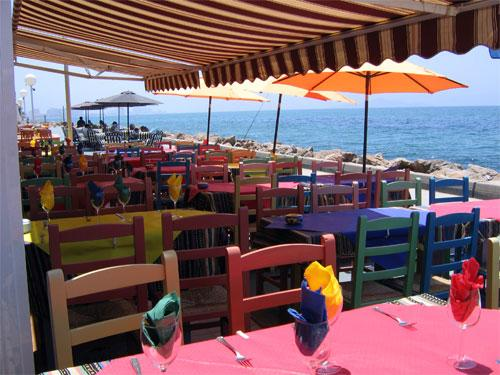 Variety of excellent restaurants at the marina