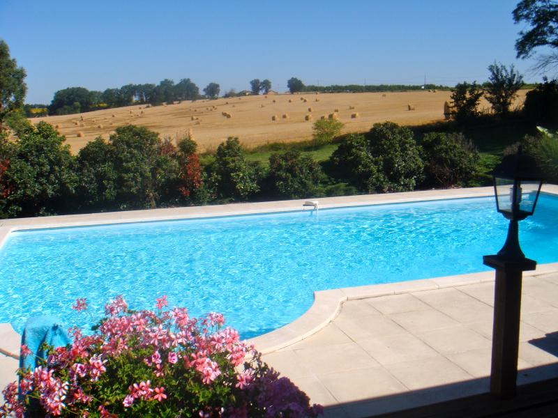 Idylic Pool 10 x 5m with roman steps for easy access(0.90 graduating to 2mtrs) alarm available.