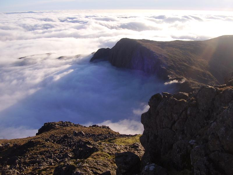 Cader Idris above the clouds