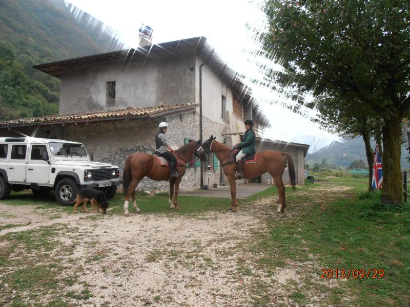 Mountain farm house ground floor, Localita Fabbrica Costa 600m Gargnano Lake Garda