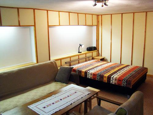 Separate one bedroom apartment for couples or 2+1 child that does not mind sharing the bedroom.