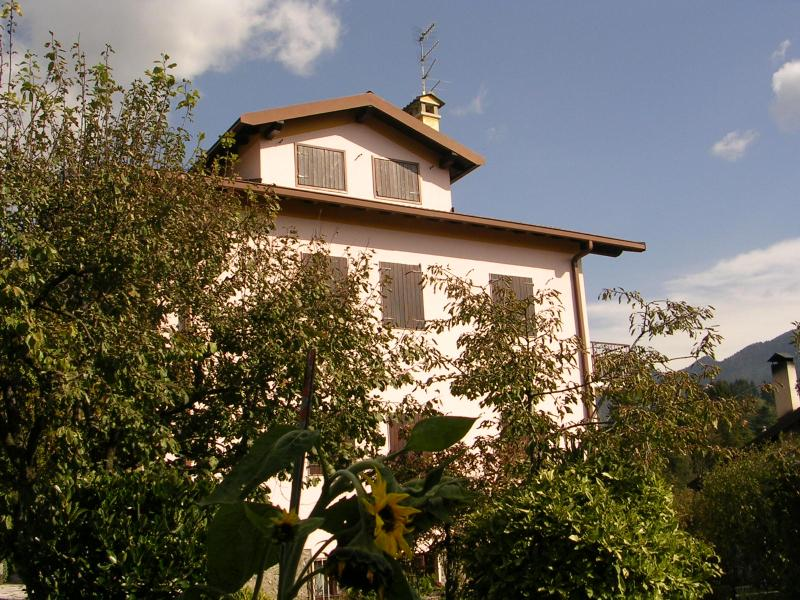 Villa Sebina from the 1540 sq mt garden