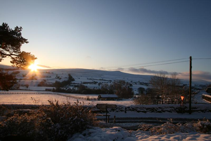 Winter sunshine in the Dales