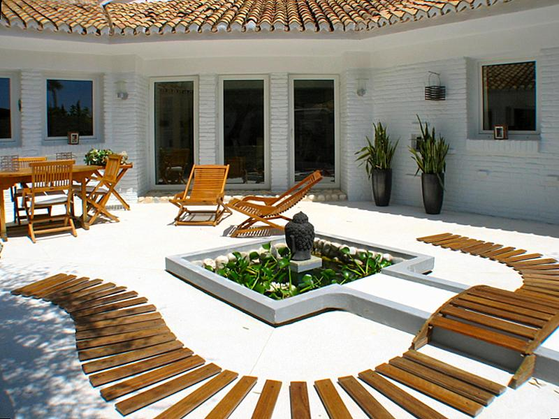 zen patio