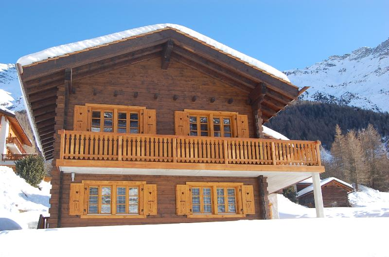 Chalet Anna in the beautiful Swiss village of Zinal in the Valais region.