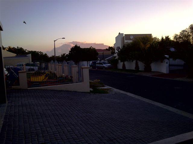 VIEW FROM MAIN HOME TO TABLE MOUNTAIN