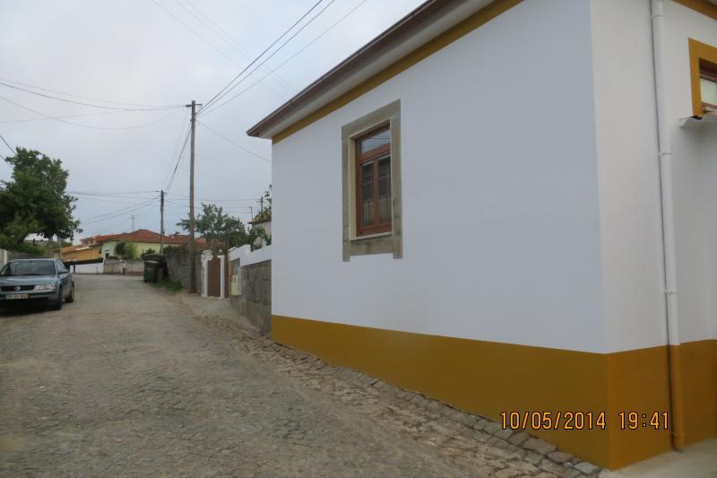 rua tranquila da Casa da Avó