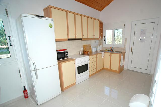 The kitchen is perfectly sized and equipped for good self catering.