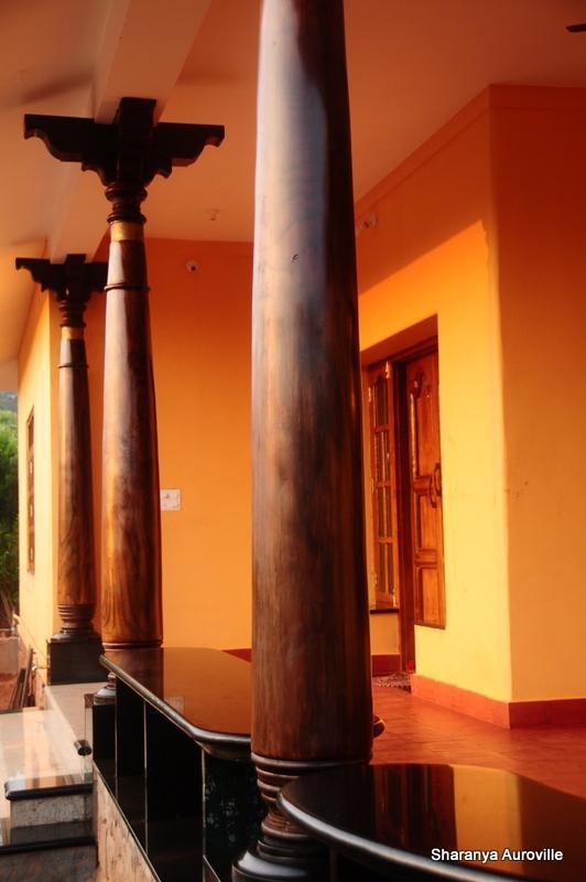 Restored antique rosewood pillars