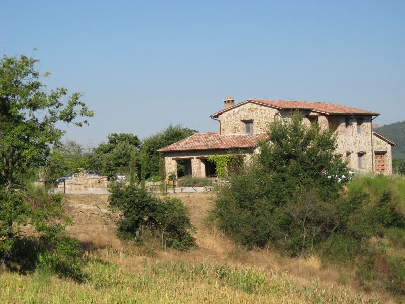 La Fiorella, a view from the olive grove
