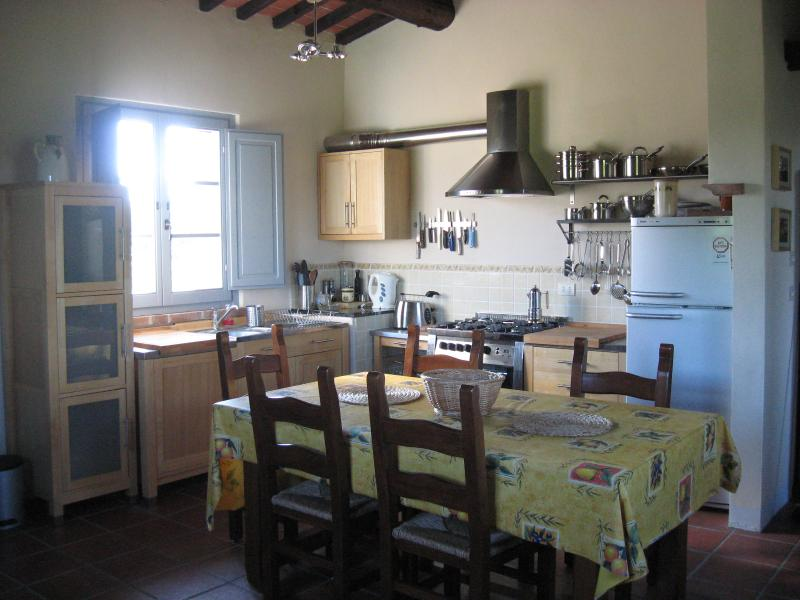 Kitchen area - all you need & more for self-catering