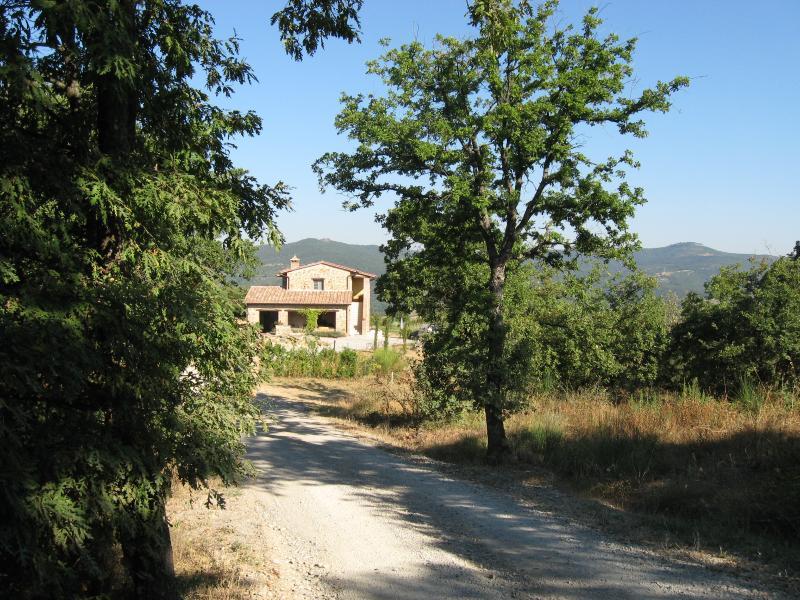 Road to La Fiorella