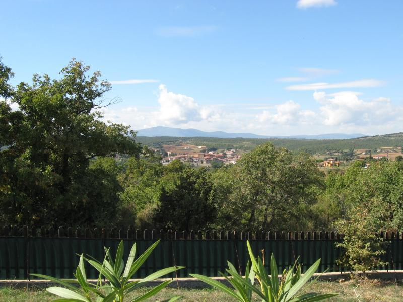 Views across the valley to Piegaro