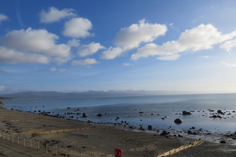 Fabulous Sea Views from all Floors in Bay View. Criccieth West Beach.