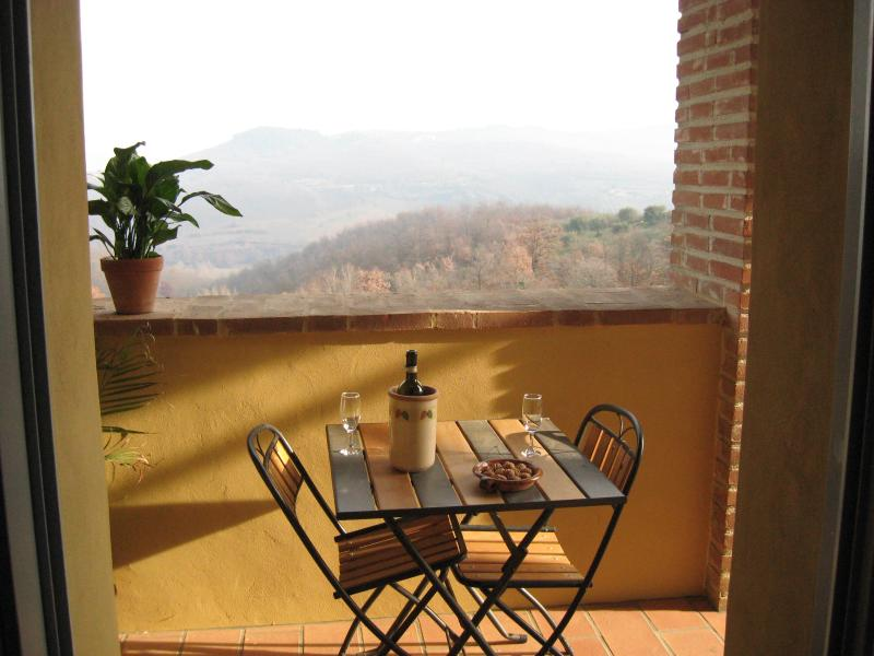 Autumnal Balcony views
