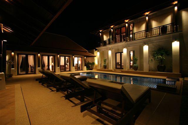 Villa and private pool