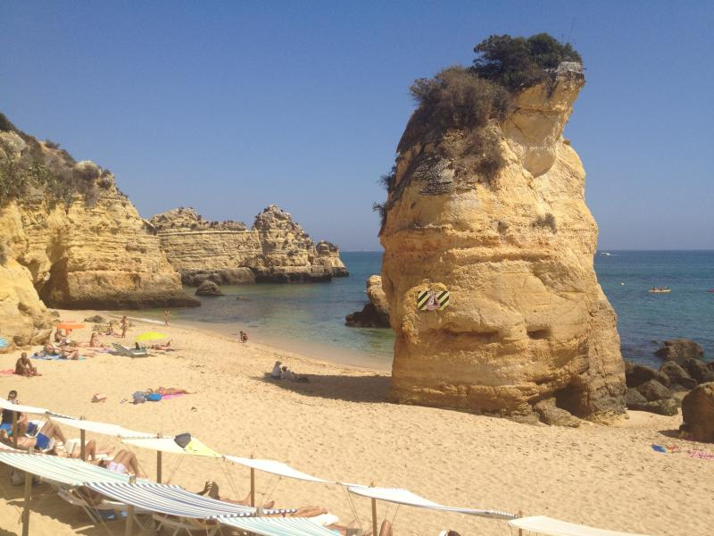 Praia Dona Ana Beach only minutes walk away