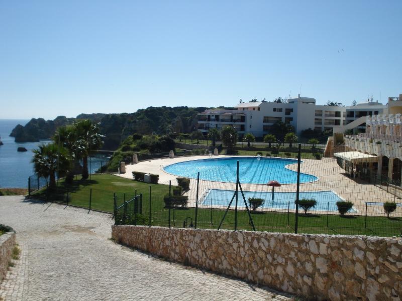 Take a stroll down to Praia Dona Ana Beach, just minutes away