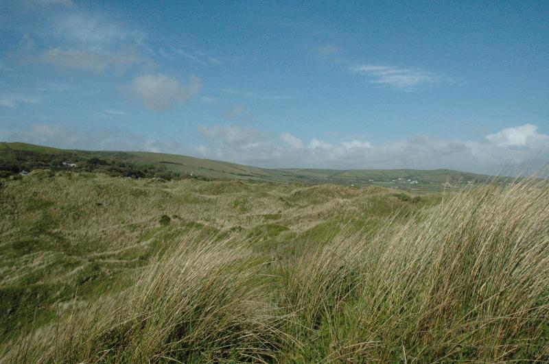 Sandhills and Saunton sky