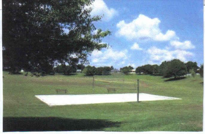 Volley ball area on development