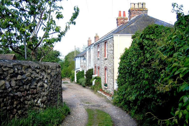 Upwey Cottage from the lane