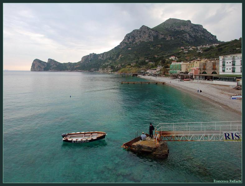 Casa in Riva al Mare -'La Caparola' Nerano - Marina Del Cantone, Ferienwohnung in Massa Lubrense