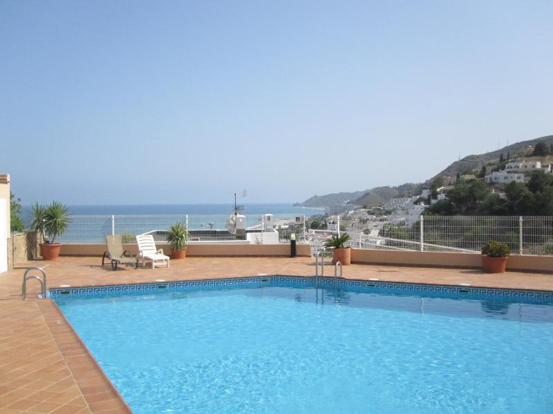 Penthouse - sea/mountain views, holiday rental in Mojacar