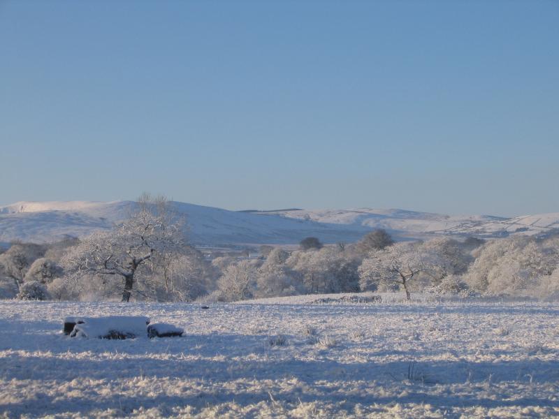 Campo nevoso dalla Adain