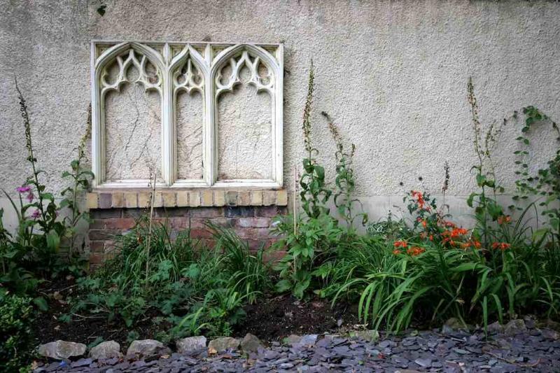 Private Medieval Garden