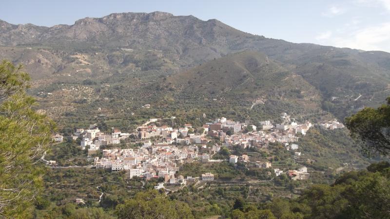 View of Guajar Faraguit from Castillejo