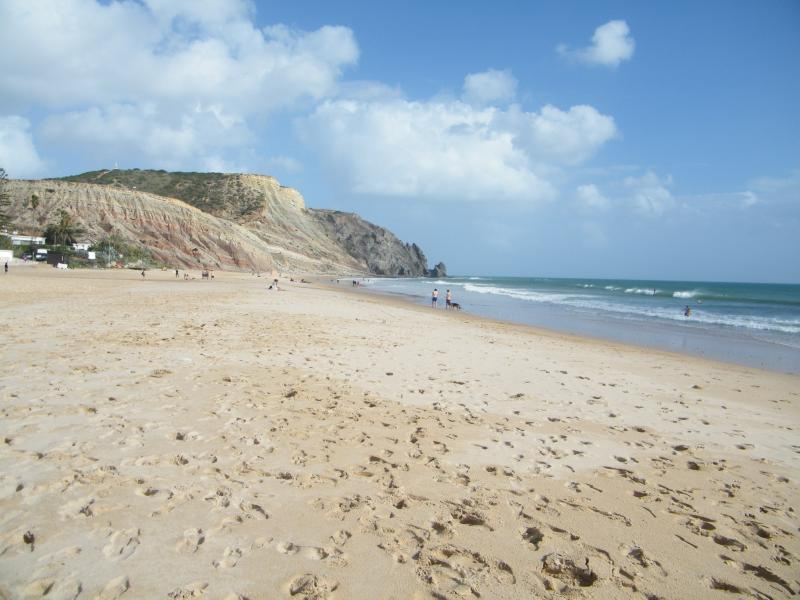 Beach at Praia de Luz