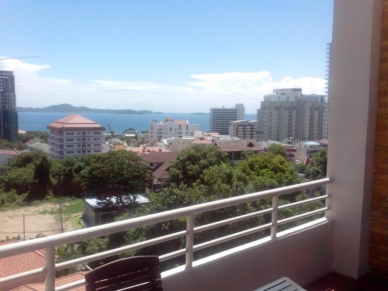 Alternatieve uitzicht vanaf balkon