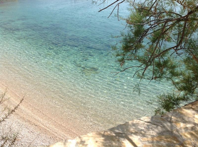 The Beach House Croatia Pisak  Vista desde terraza