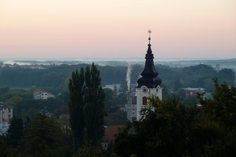 Morning view of Gornja Radgona