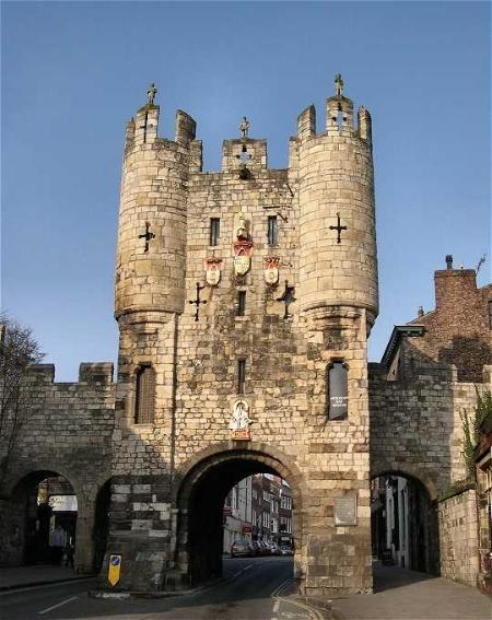 Micklegate Bar, walking the bar walls is  a favourite activity for many visitors, and free!