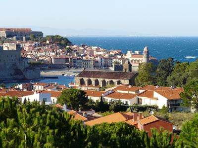 Collioure (we're only 1hr from mediterranean beaches)