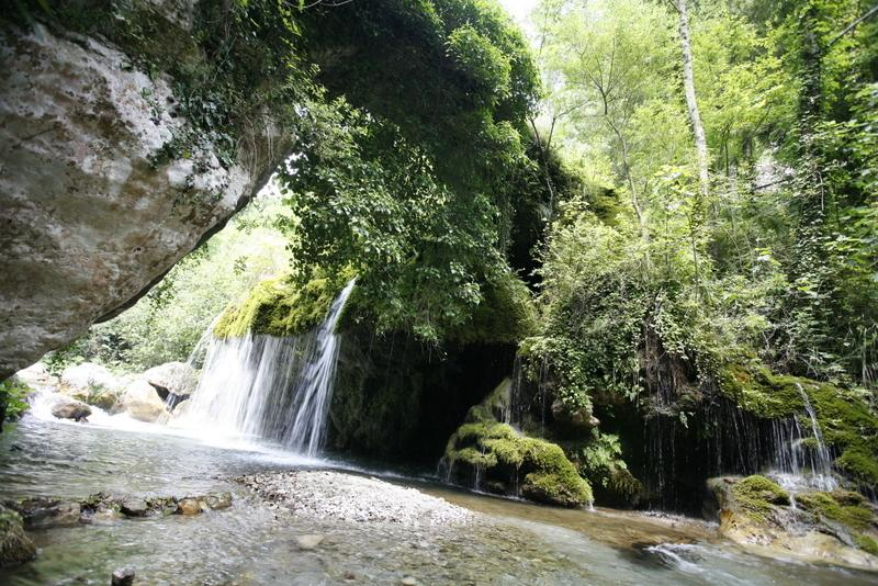 Waterfall 'Venushair' at Casaletto