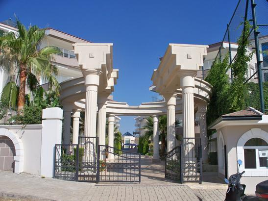 Front entrance with 24/7 security