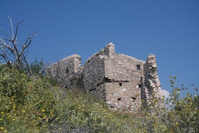 Thermissia castle which is only a few minutes drive from Ermioni