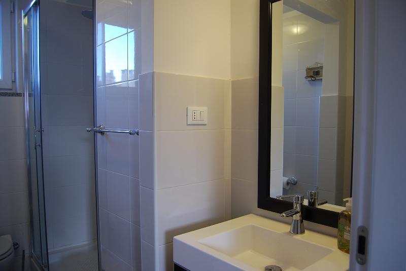 Residenza Principe, bagno con doccia
