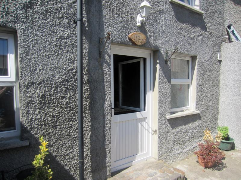 Front entrance to the cottage