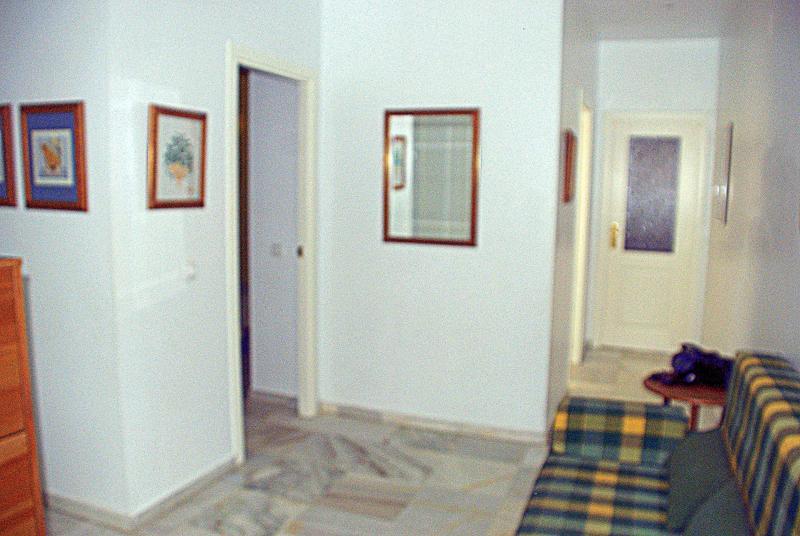 Entrada del apartamento.