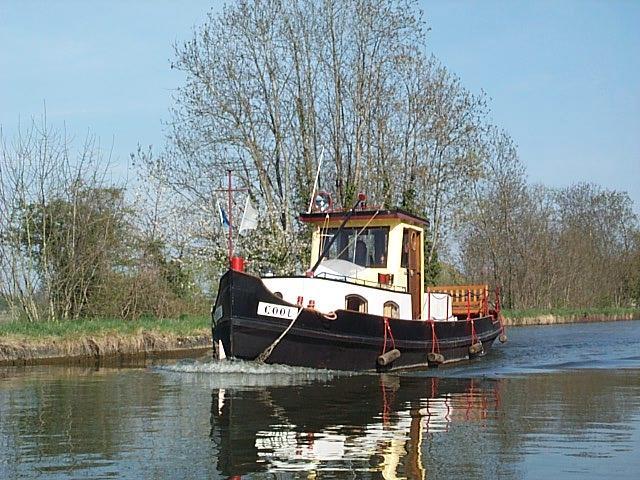En förbipasserande båt